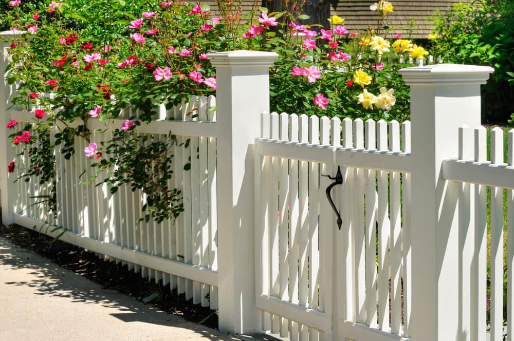 Malý drevený plot na kľúč iPloty